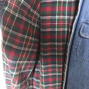 Eddie Bauer Shirts - Vintage Eddie Bauer flannel lined shirt medium